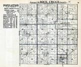 Rock Creek Township, Adrian, Ferris, Hancock County 1936